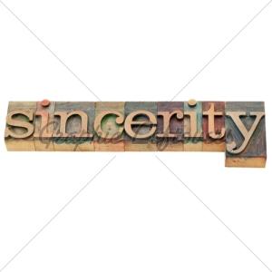 sincerity-word