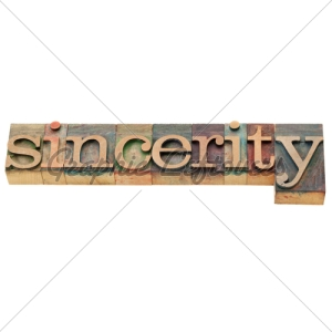 sincerity-word