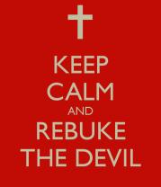 Keep Calm Rebuke