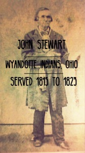 John Stewart. Black Missionary to Wyandotte Indians in Ohio from 1815 to 1823.